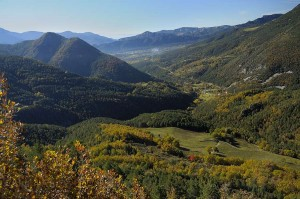 Serra del Verd during a trek through the Pyrenees   Bergueda