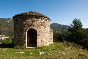 Rotonda de St. Miquel lors d'une Randonnée dans les Pyrénées