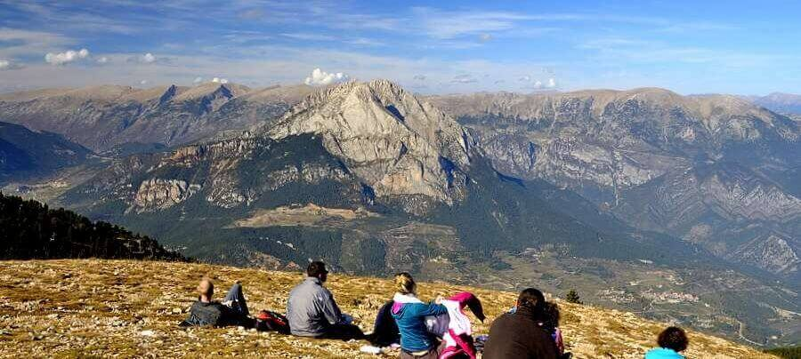 Views of Pedraforca | Trekking in the Cadi Moixero Natural Park | Hiking in Catalonia Spain | Guided Walking Holiday