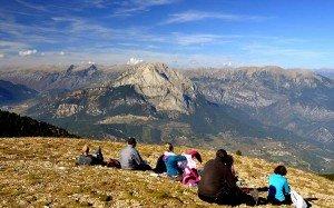 Views of Pedraforca from Gallina Pela summit