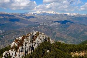 Bergueda   Views during a trek through the Pyrenees