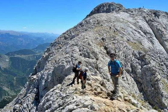 Bergueda   Pedraforca during a trek through the Pyrenees