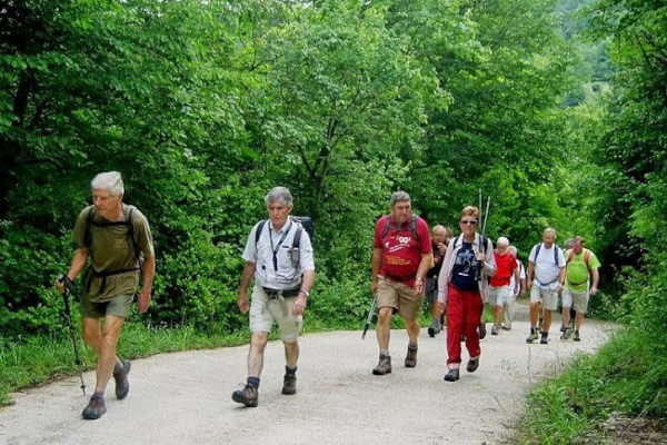 Guided Walking Treks for the Over 50's