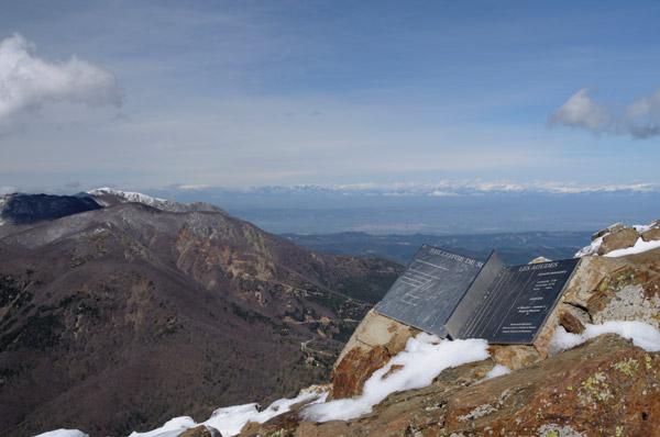 Les Agudes peak, in the Montseny natural park